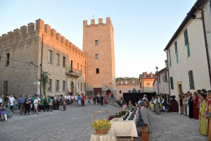 Banchetto rievocazione Sant'Angelo in Lizzola