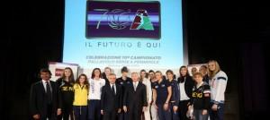 La presentazione del 70° campionato (Foto Rubin LVF)