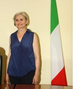 Luciana Conti, vicesindaco di San Lorenzo in Campo