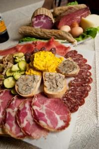 Tartufo enogastronomia Pergola cucina tavola