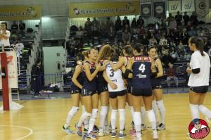 Le ragazze del Volley Pesaro protagoniste in campo e davanti alla macchina fotografica