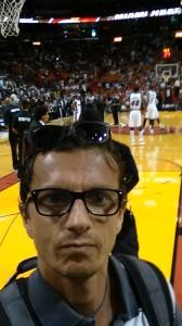 Lorenzo Scatigna in prima fila per Heat - Knicks