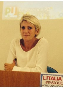 Camilla Fabbri, senatrice pesarese del Pd