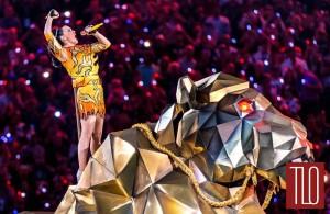 Katy Perry al Super Bowl. Tratto da TLO