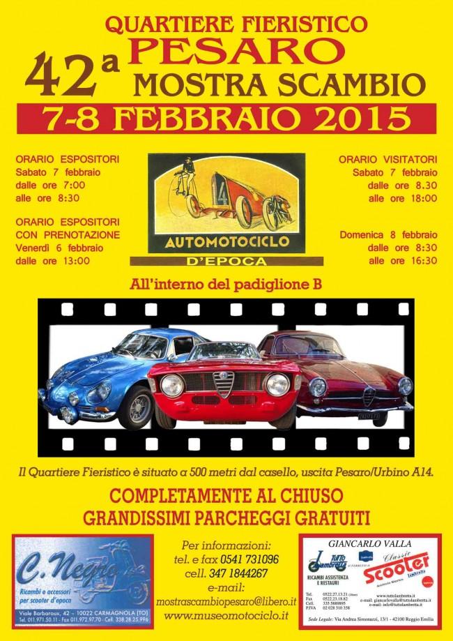 Mostrascambio Pesaro 7-8 febbraio 2015
