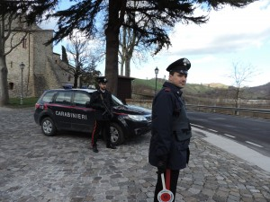 I carabinieri di Piandimeleto