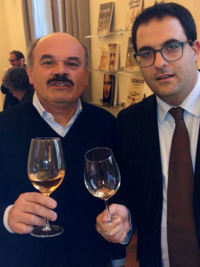 Gianluca Carrabs e Oscar Farinetti, patron di Eataly