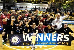 PesaroFano vince Coppa Italia serie A2