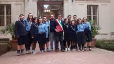 Il gruppo scout Agesci Fano 2 in Comune a Fano