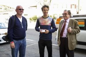 Franco Morbidelli, l'esaminatore della patente e Alfredo Bassani