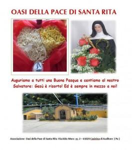 Oasi della Pace: Dionigia augura Buona Pasqua