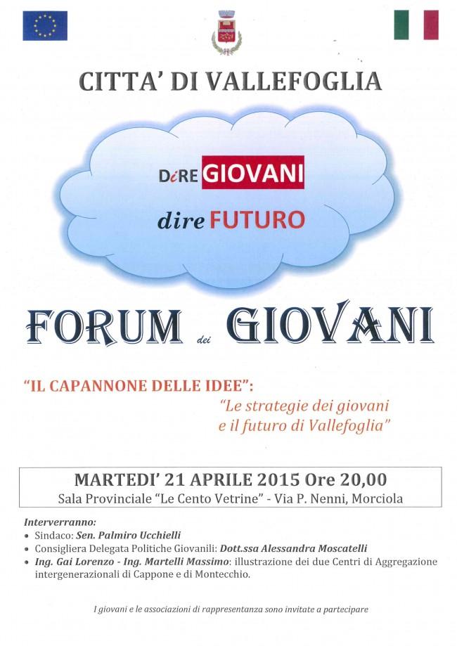 ForumGiovani21.04.2015
