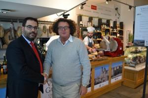 Gianluca Carrabs e Lucio Pompili