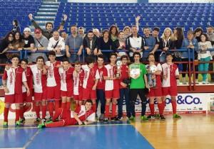 I Giovanissimi del PesaroFano campioni delle Marche
