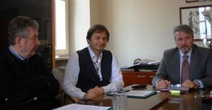 Presentazione iniziativa commercialisti pesaresi: da sinistra Cattarina, Tonucci, Balestieri