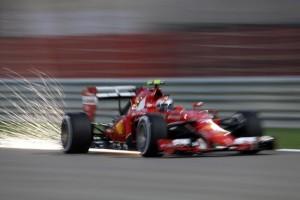 La Ferrari in gara
