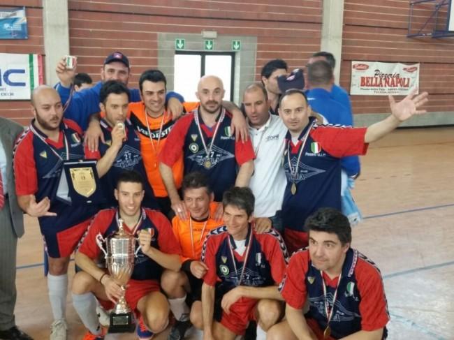 I campioni d'Italia 2015 dell'Invicta Pesaro