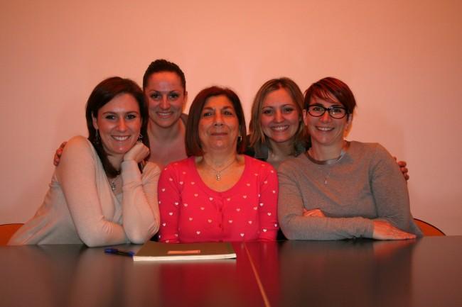 Il consiglio direttivo del Collegio delle ostetriche di Pesaro e Urbino