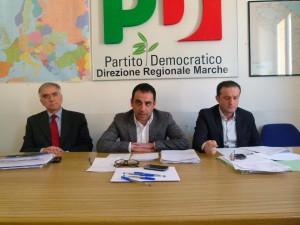 La conferenza stampa del Pd regionale