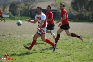 Il pilone Galdelli della Pesaro rugby