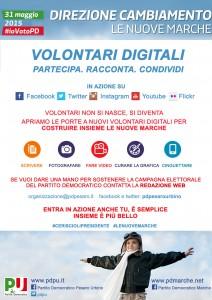 Volontari digitali del Pd per le elezioni regionali