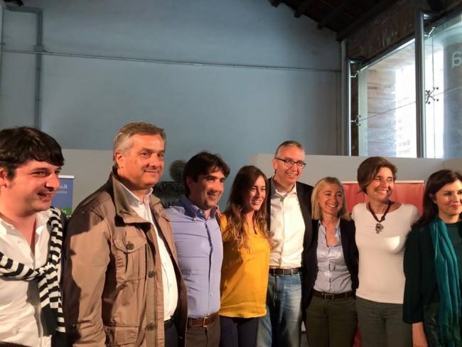 Il ministro Boschi con Ceriscioli, in candidati della nostra provincia e il segretario Gostoli