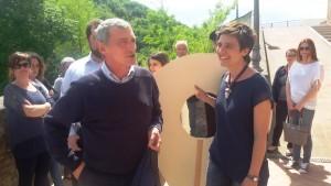Davide Sassoli con Vagnerini