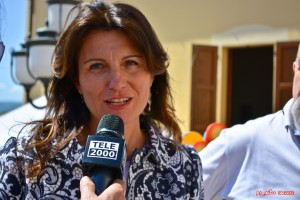Il sindaco di Tavullia Francesca Paolucci