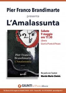 """Pier Franco Brandimarte presenta """"L'Amalassunta"""""""