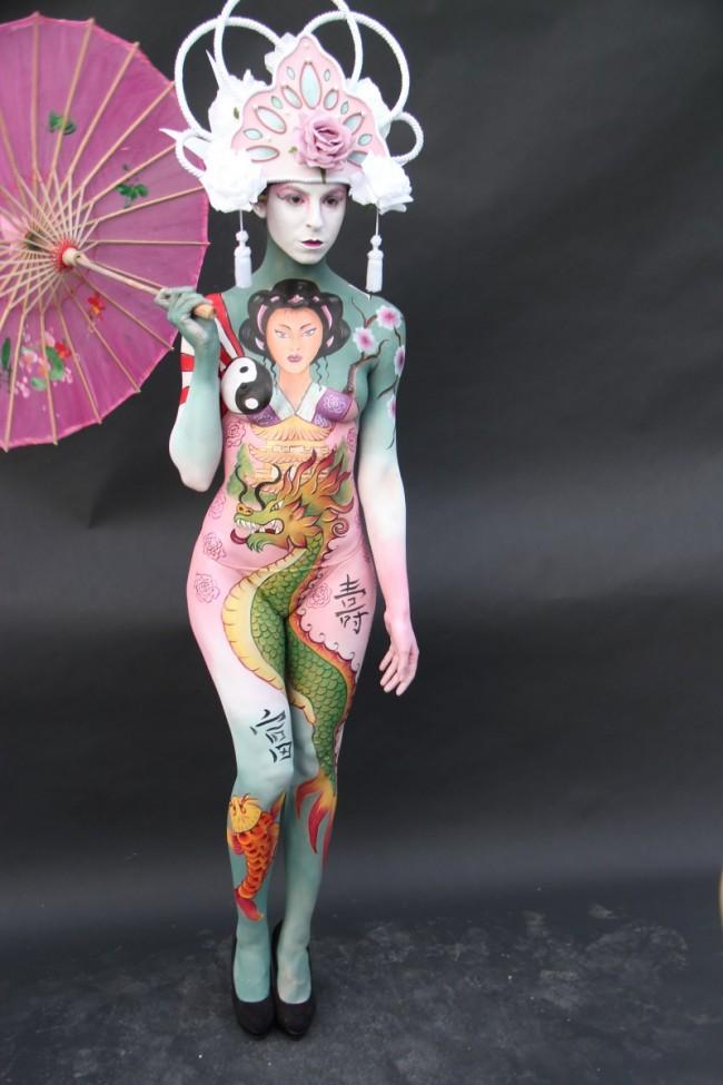 Body Art Festival a Riccione. Foto Ballante