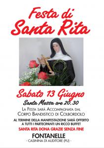 Festa di Santa Rita Oasi 2015