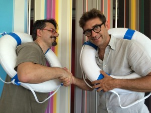 Alessio Canalini e Marco Morosini