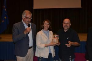 Alberto Paccapelo con Barbara Rossi e Giancarlo Sorbini
