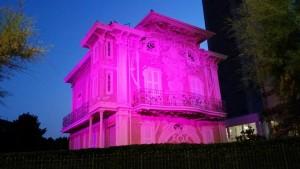 Villino Ruggeri in rosa