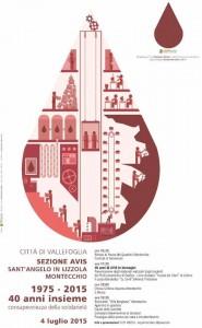 La festa dei 40 anni dell'Avis di Montecchio