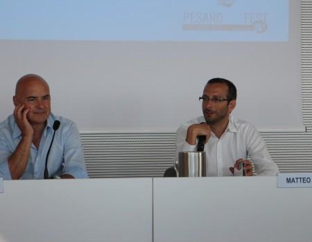 Pesaro Doc Festival: Luca Zingaretti e Matteo Ricci