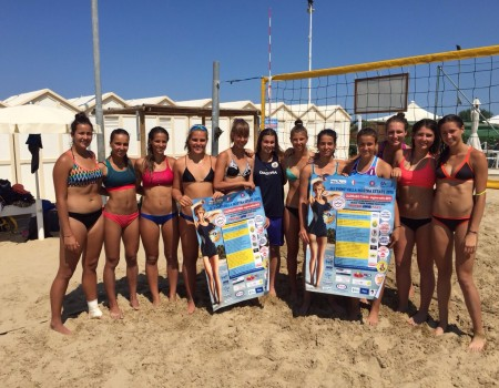 Il Team Lombardia di beach volley ha scelto Fano