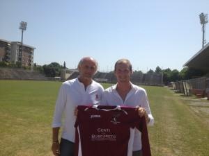 Maurizio Chiacchiarelli col d.s. Canestrari
