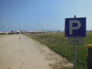 Il parcheggio per bici