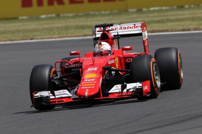 Ferrari a Silverstone