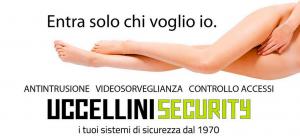 La pubblicità sotto accusa della Uccellini Security