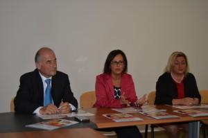Giannalberto Luzi, Anna Casini e Romina Pierantoni