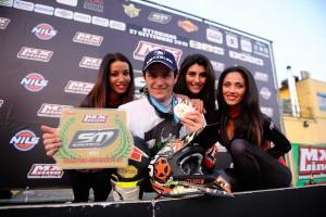 Ivan Lazzarini campione SuperMoto per la 12esima volta