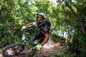 Danilo Petrucci in mountain bike