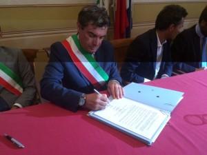 Il sindaco Massimo Seri