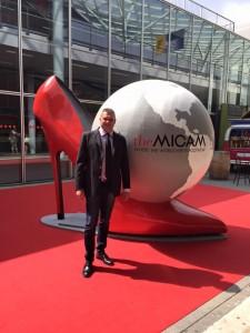Moreno Bordoni (CNA) al Micam, il Salone della Calzatura di Milano