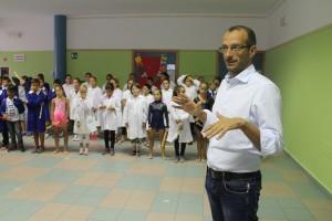 Matteo Ricci in una scuola
