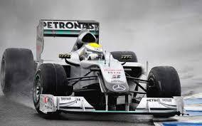 La Mercedes di Rosberg