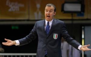 Simone Pianigiani, coach dell'Italbasket