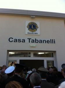 Casa Tabanelli, l'entrata
